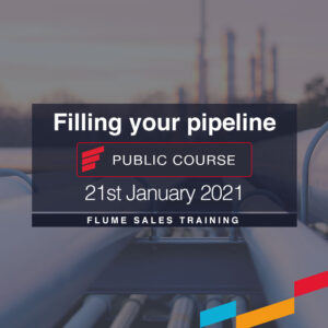 Filling Pipeline Public Course Flume Sales Training
