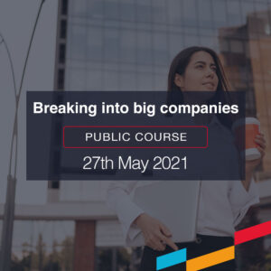 Breaking into big companies public course