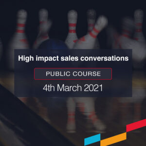 High Impact sales conversations public course